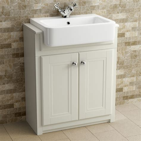 Bathroom Basin Furniture Traditional Ivory Bathroom Vanity Unit Basin Furniture Storage Cabinet Mirror
