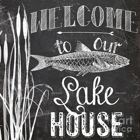 welcome to our house welcome to our lake house sign by mindy sommers