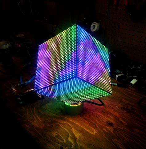 led projects diy tutorial how to make a diy led cube the adafruit learning system 171 adafruit industries