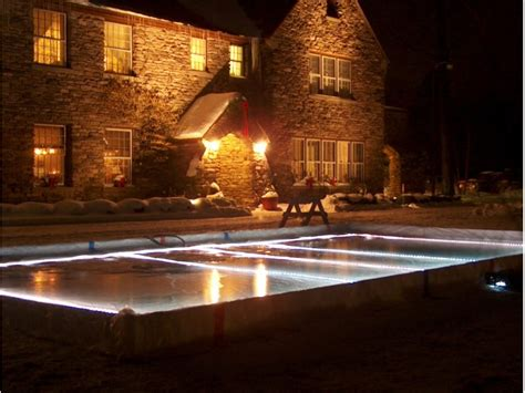 backyard rink lighting tips for building a backyard ice rink avon ct patch