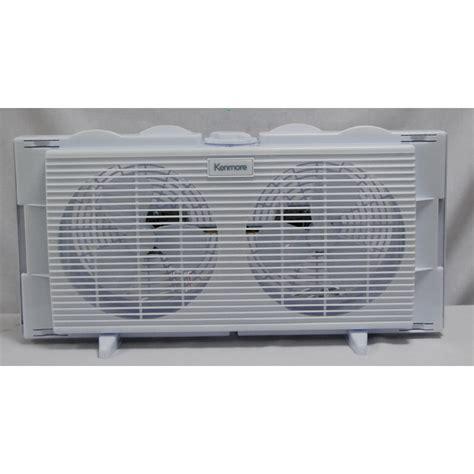 dual window fan reviews kenmore 36700 twin window fan shop your way online