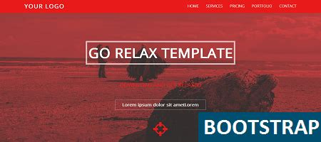 bootstrap templates for commercial use free bootstrap template relax binary theme binary
