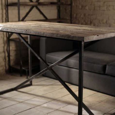 Side Cabinet foreign accents industrial bar table