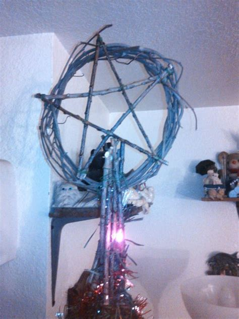 pentacle tree topper pentacle tree toppers and yule on