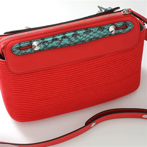 Fendi Coral Pink Embossed Satin Handbag by Fendi By The Way Boston Small Bag In Pink Lyst