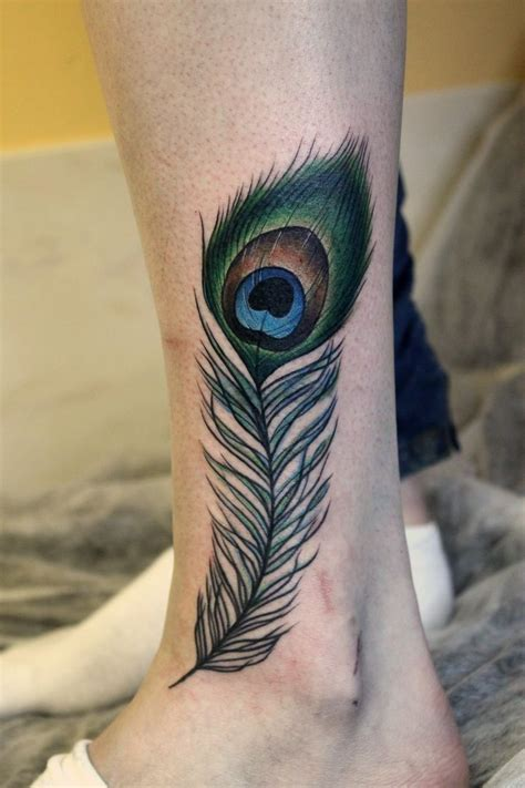 peacock feather tattoos 153 best feather tattoos images on