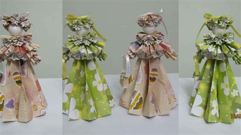 How To Make Origami Dolls - how to make 3 d paper doll edwardian origami
