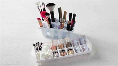 Kuas Rias Makeup Plastik 29029 ide kreatif menata koleksi make up rumah dan gaya hidup rumah
