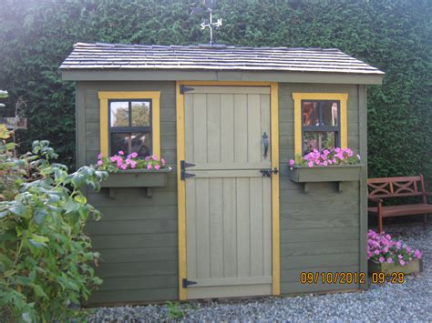 Painted Shed by Tae Gogog Detail Garden Shed Colours