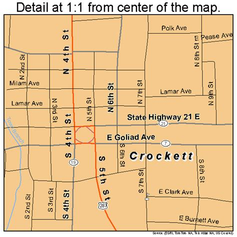 map of crockett texas crockett texas map 4817744