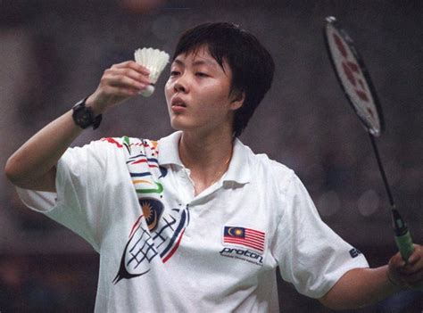 Raket Pemain Dunia Badminton Yin Yin Tak Gentar Hadapi Pemain Nombor Dua