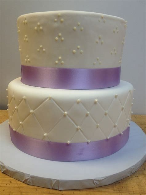 Quilted Fondant Cake by La Patisserie Quilted Fondant