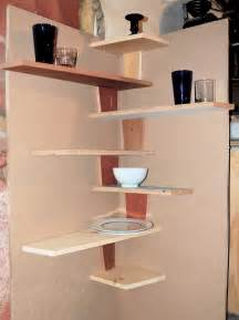 Kitchen Corner Shelves Ideas by Spacesaver Small Kitchen Spaces Using Diy Wood Floating