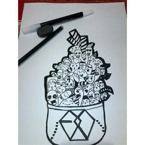 exo doodle wallpaper doodle art quot exo quot kpop pinterest doodles doodle