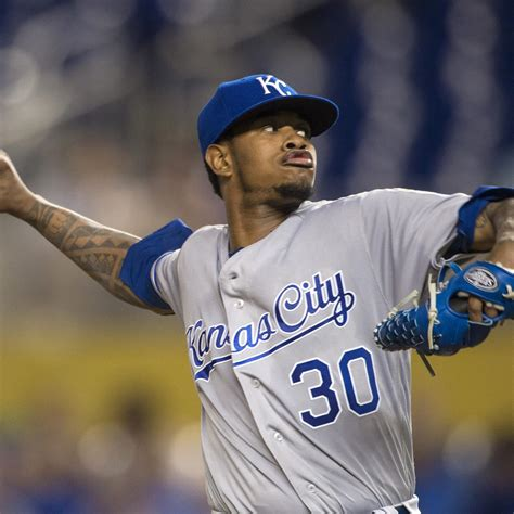 yordano ventura tribute given by royals prior to home