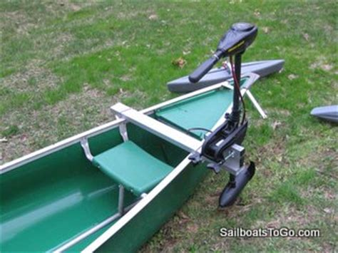 canoe with motor mount sailboats to go 187 aluminum motor mount for canoes