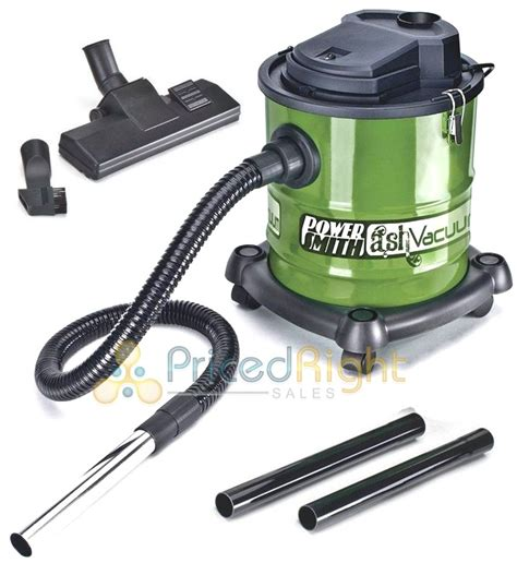 powersmith ash vacuum vac fireplace pellet stove grill