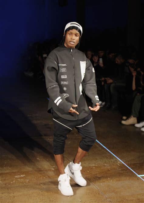Asap Rocky Wardrobe by Asap Rocky Is The Official New York Fashion Week Killa