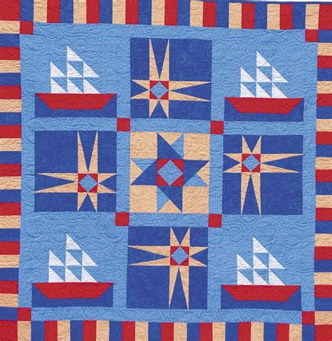 Nautical Themed Quilts by 125 Best Quilts Images On Nautical Quilt