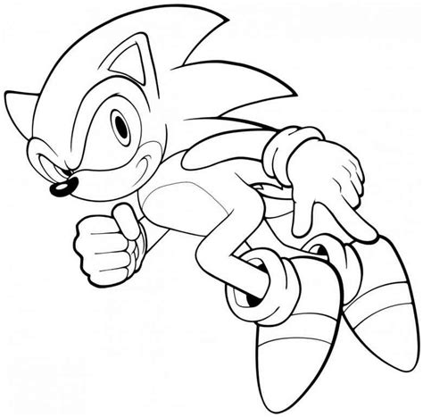 coloring pages sonic the hedgehog free printable sonic the hedgehog coloring pages for