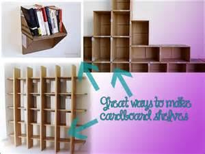Cardboard Bookshelf Diy Rubbishlove Diy Cardboard Shelf