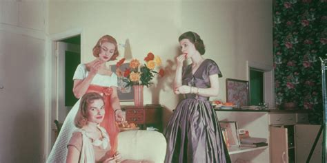retro cocktail party vintage over fifties women pictures