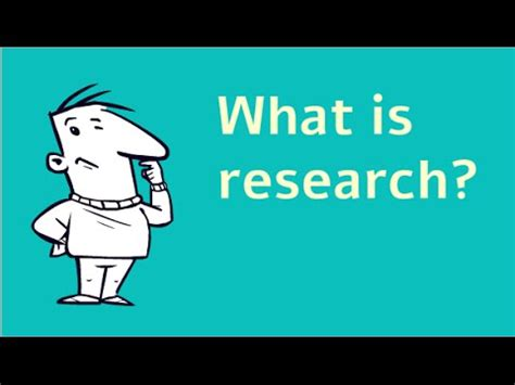 what is what is research