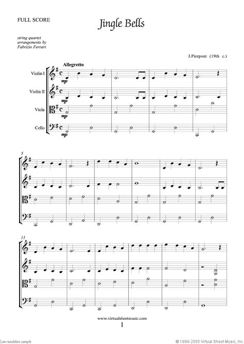 Wedding Bell Tab Pdf by String Quartet Or String Orchestra Sheet