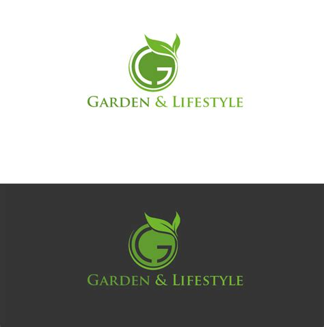 gardening logo ideas upmarket logo design for garden and lifestyle llc