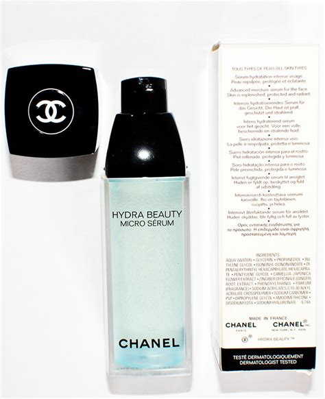 Chanel Hydra Micro Serum hydra micro serum chanel akanksha redhu