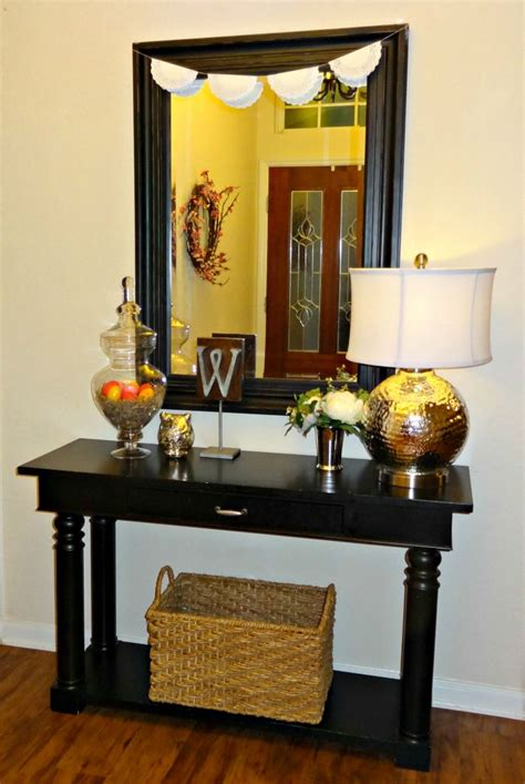 entry table ideas pinterest