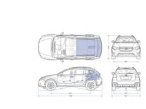 Subaru Crosstrek Dimensions Xv Crosstrek Specifications 2015 Subaru Xv Crosstrek
