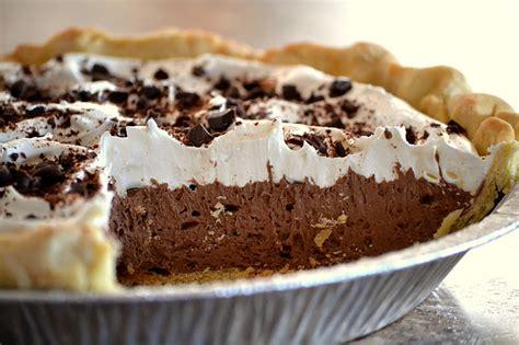 chocolate pie recipe dishmaps
