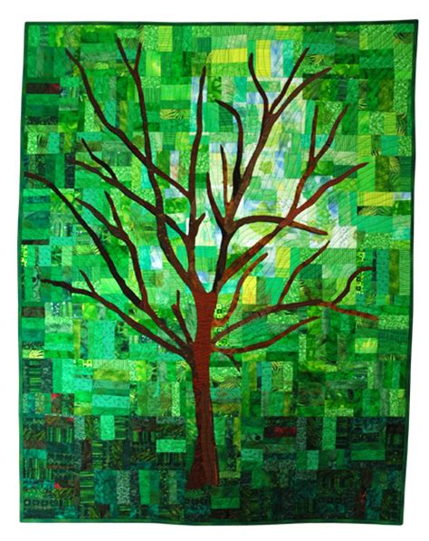 Tree Quilts by Marshamade Artistic Quilts
