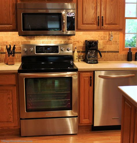 oil rubbed bronze kitchen appliances great kitchen showing how stainless appliances do go with