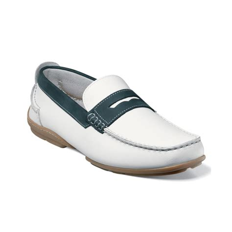 loafers for white florsheim slip on loafers in white for