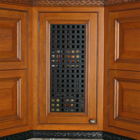 Cabinet Door Ventilation Grills Hafele Decorative And Ventilation Lattice Grills Kitchensource
