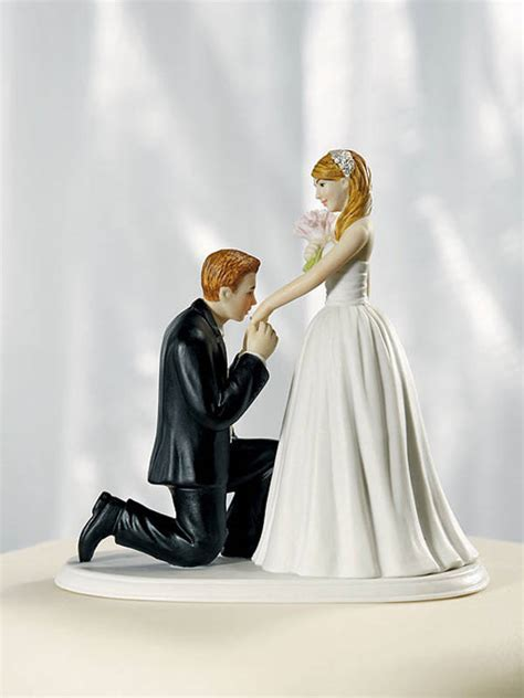 Wedding Cake Toppers Bride Groom Reception Decorations