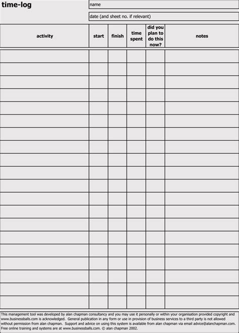 Time Log Sheets Templates For Excel Word Doc Free Sheets Templates