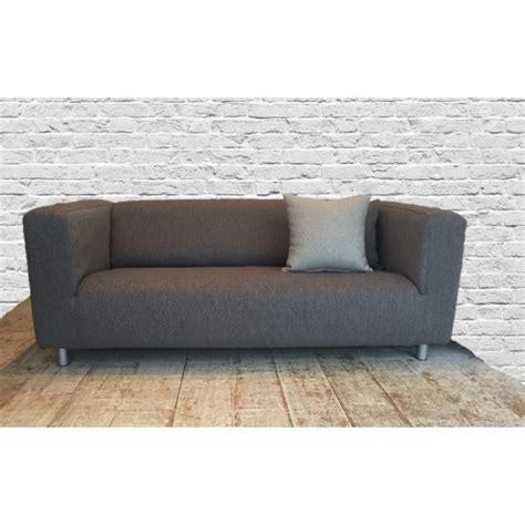 Kipplan Sofa by Klippan In Herringbone Cover
