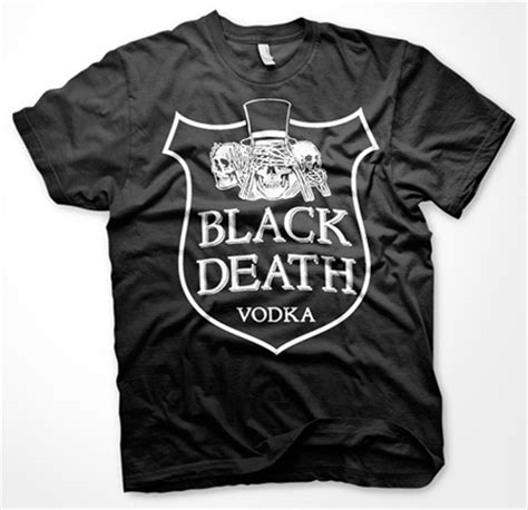 T Shirt Black Vodka black vodka t shirt