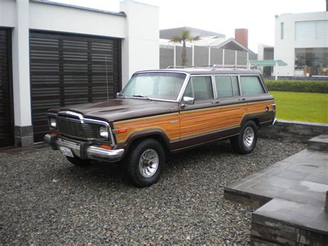 1982 Jeep Wagoneer 1982 Jeep Wagoneer Information And Photos Momentcar