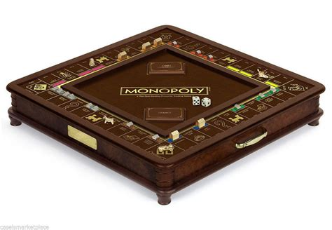 Gamis Nandira Best Seller And Limited monopoly luxury wood collectors edition classic board