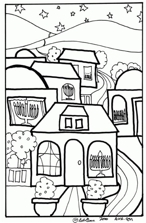 jewish preschool coloring pages get this online hanukkah coloring pages to print aycrt