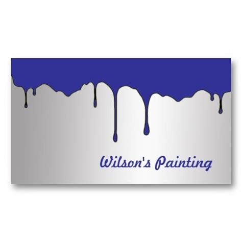Painting Business Card Template by 17 Best Images About Ordering Business Cards On