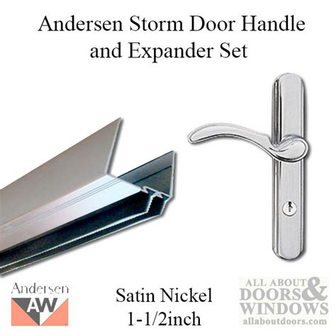 andersen door bottom sweep replacement door expander door handle and expander set 1