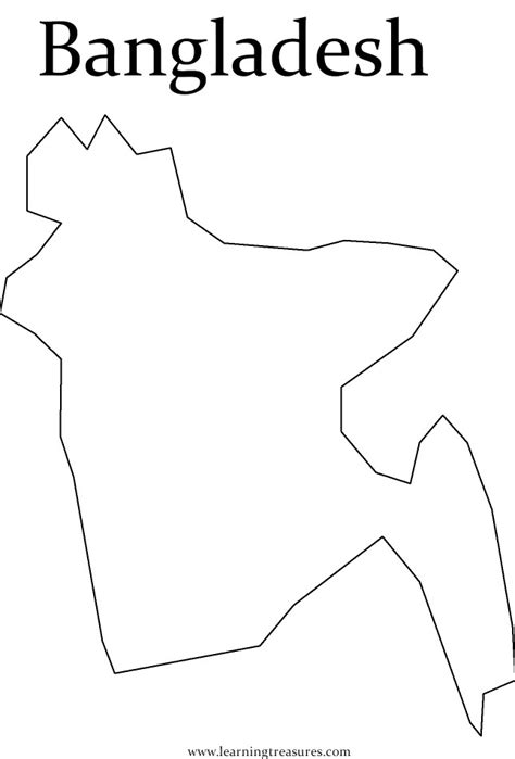 coloring page of bangladesh map map of india for kids az coloring pages