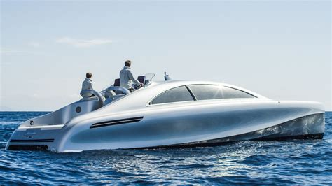 mercedes yacht mercedes prototype boat the hull boating