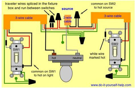 best 25 3 way switch wiring ideas on three
