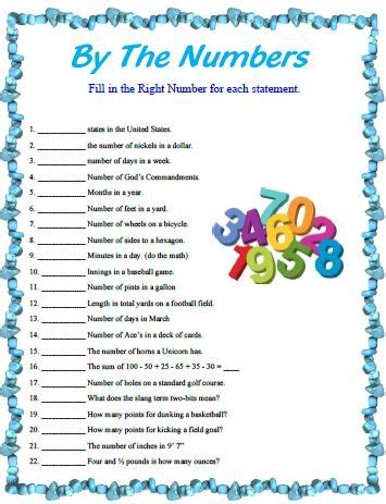 This fill in the blanks game is a great party starter, for